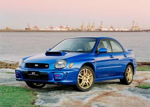 Subaru Impreza Wrx 2002 Rally Impreza Wrx Sti 2002